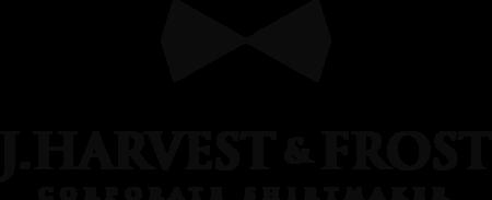 J. Harvest & Frost skjorter med logo tryk eller broderi