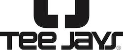Teejays logo tøj til dit firma