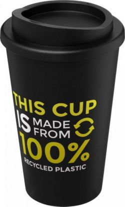 Recycled Americano® isoleret to-go krus med tryk, 350ml