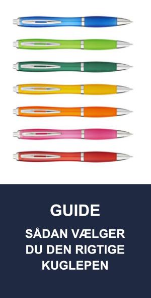 Guide: Sådan vælger du den rigtige kuglepen