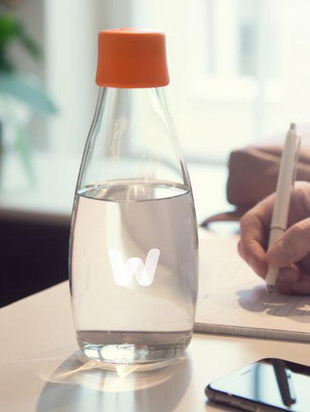 Retap flasker med logo tryk